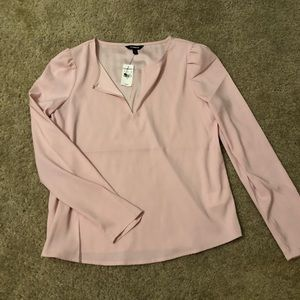 Long sleeve business casual top